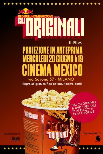 GLI ORIGINALI IN DVD
